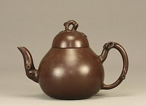 Chinese Scholar Yixing GNARLY TREE BRANCH Teapot