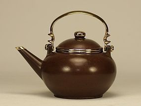 Chinese Yixing Teapot GONGEK Marked & Signed
