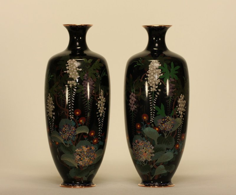 Antiques Regional Art Asian Japanese Enamel Trocadero