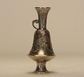 Japanese Silver Sake Ewer c19th Century