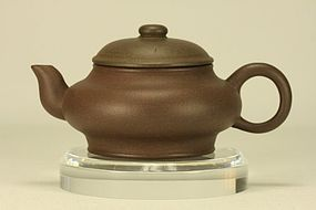 Superb Chinese Yixing Teapot (2) Marked