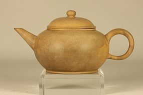 Chinese Yixing Teapot Marked & Signed