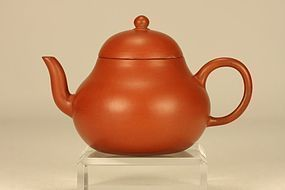 Superb Chinese Yixing Teapot MENGCHEN Pear Shaped