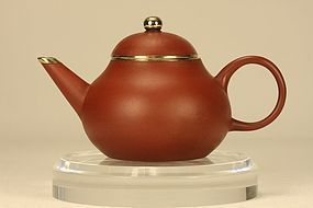 Superb Chinese Yixing Teapot MENGCHEN Signed