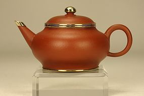 Superb Chinese Yixing Teapot MENGCHEN & Signed