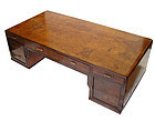 Vintage Japanese Tsukue Desk with Secret Compartment