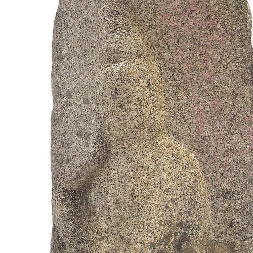 Antique Japanese Stone Miroku Buddha Jizo