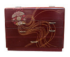 Vintage Japanese Haribako Sewing Box