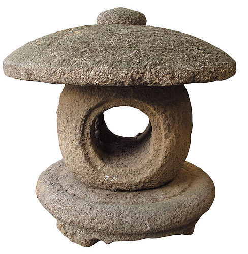 Antique Japanese Garden Stone Lantern