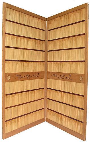 Vintage Japanese Room Divider Yoshido A Pair