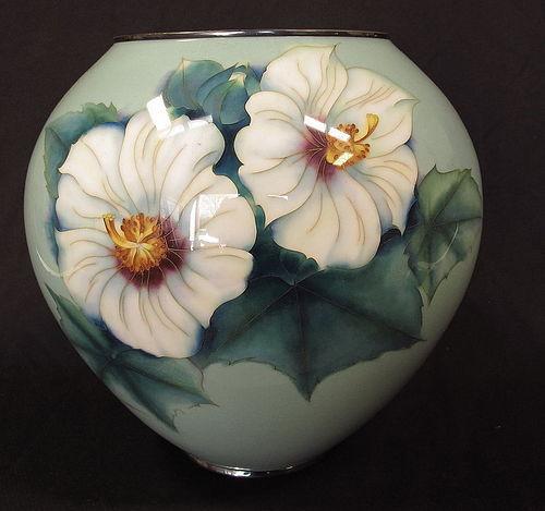 Japanese Cloisonne Ando Shippo Vase