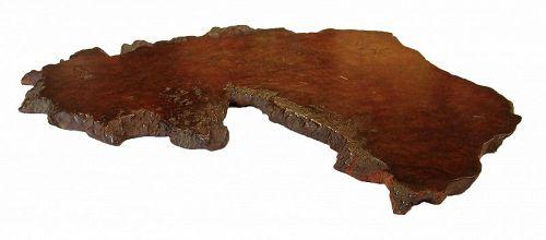 Vintage Japanese Wooden Shiki Ita Board