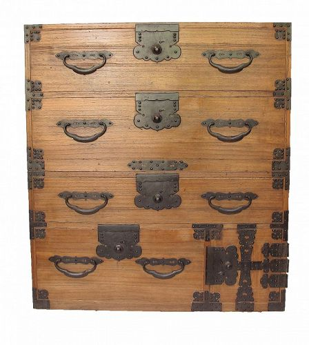 SALE Antique Japanese Kasane Isho Tansu Chest