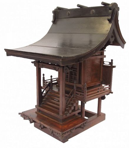 Antique Japanese Shinto Shrine Yashiro