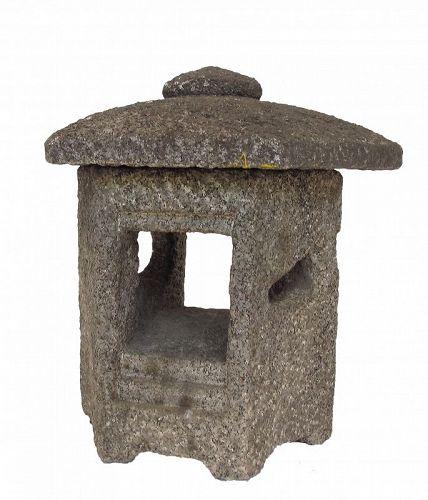 Vintage Japanese Garden Stone Lantern Toro