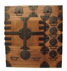 Antique Japanese Choba Tansu Merchant Chest Furniture