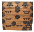 Antique Japanese Ko Tansu Small Chest