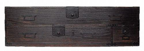 Antique Japanese Katana Tansu Sword Chest Cabinet Furniture