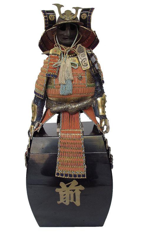 Antique Japanese Samurai Musha Doll Ningyo Boy's Day