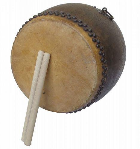 Vintage Japanese Drum Taiko Miyamoto Wa Daiko wist Bachi