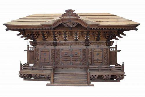 Vintage Japanese Large Shinto Shrine