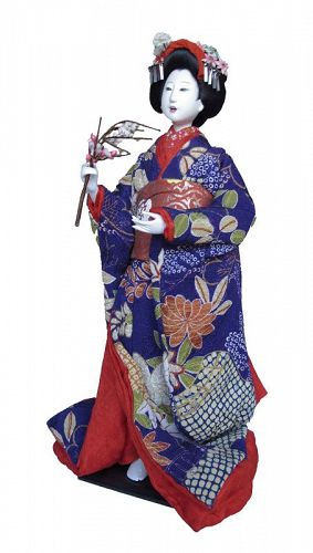 Vintage Japanese Isho Ningyo Costume Doll Taisho 7