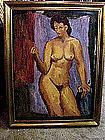 Nude in Interior by John Ulbricht