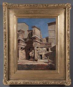 Figures Amongst Roman Ruins: W Livingston Anderson