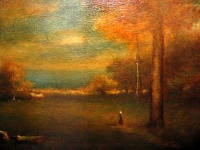 Sunset Landscape in Montclair, NJ: George Inness