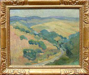 Texas Landscape: Franz Strahalm