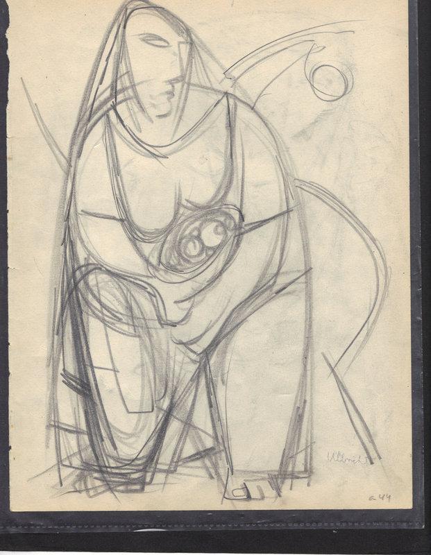 Modernist Original Drawings: John Ulbricht
