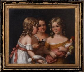 Young Girls and Dolls: Charles Bird King