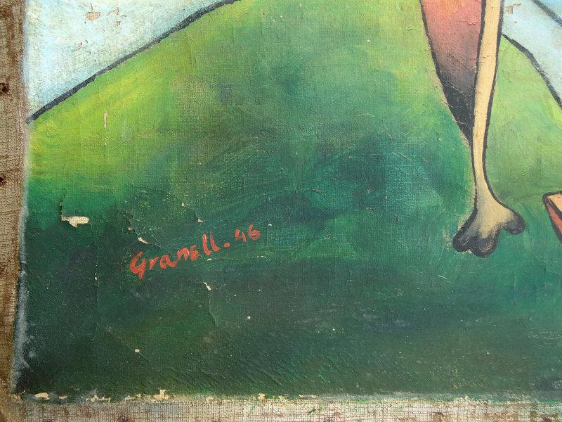 Three Surrealist Figures: Eugenio Fernandez Granell