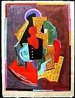 Cubiste Compostion circa 1920's; Albert Gleizes