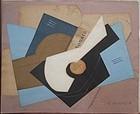 Cubiste Natur Morte Avec Guitare: Henri Laurens