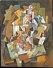Cubiste Composition: George Valmier