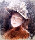 Portrait de Jeune Femme: Henri Fantin-LaTour
