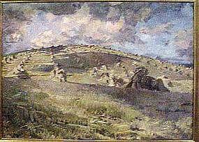 Harvest Landscape by Robert Von Neumann