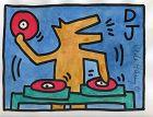 """""""DJ"""" : Keith Haring"""