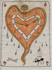 """Ace of Hearts"" : Salvadore Dali"
