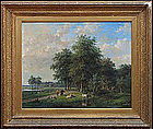 Landscape with Figures by: Willem Vester