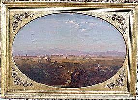 Southern Italian Landscape by Samuel Lancaster Gerry