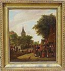 Village Fair by school of Cornelius Droogsloot