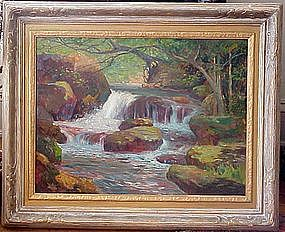 Colorado Mountain Stream: Frederick Becker