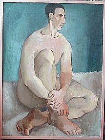 Nude Male Portrait: John Ulbricht