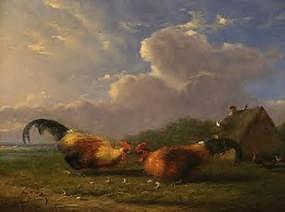 Barnyard Fowl: Franz Van Severdonck