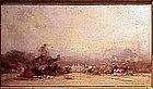 Sunrise View of Istanbul: Henri DuVieux