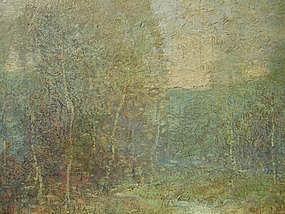 Impressionist Landscape: Ernest Albert
