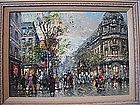 Paris Street Scene Summer: Antoine Blanchard