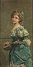 Aristocratic Lady with Lute: Salvatore Postiglione